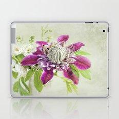 Clematis 'Josephine' Laptop & iPad Skin