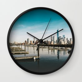 Silent City View - NYC Wall Clock