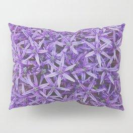Purple Pom Pillow Sham
