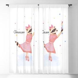 Claraccoon Blackout Curtain