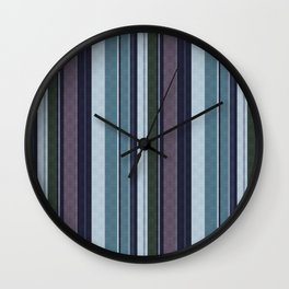 vertical stripes. 2 Wall Clock