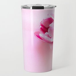 One tulip closeup studio shot Travel Mug