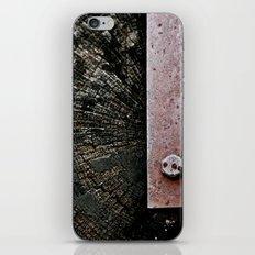 Wooden Energy iPhone & iPod Skin