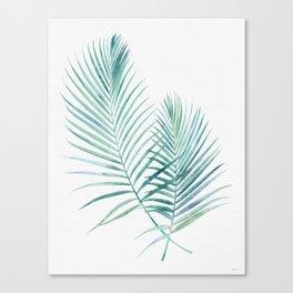 Jungle Flora Canvas Print