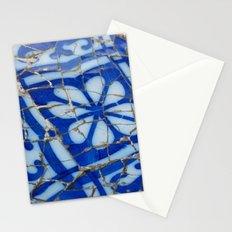 Barcelona Blue Stationery Cards