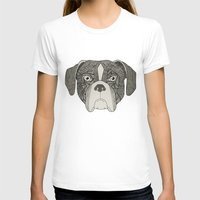 boxer T-shirts featuring Boxer by Sosarora