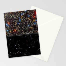 Hubble Space Telescope - Using Hubble to chart the future motions of stars within a cluster Stationery Cards