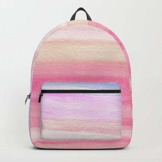 Pastel Watercolor Sunrise Backpack