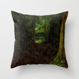 Faerytale Forest Throw Pillow