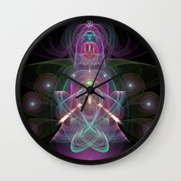 Medi Sines Wall Clock