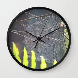 The Weaver Wall Clock