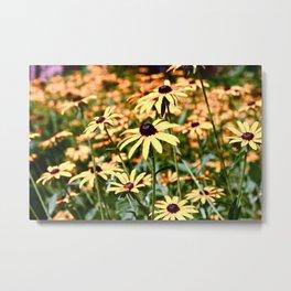 Philly Flowers. Metal Print