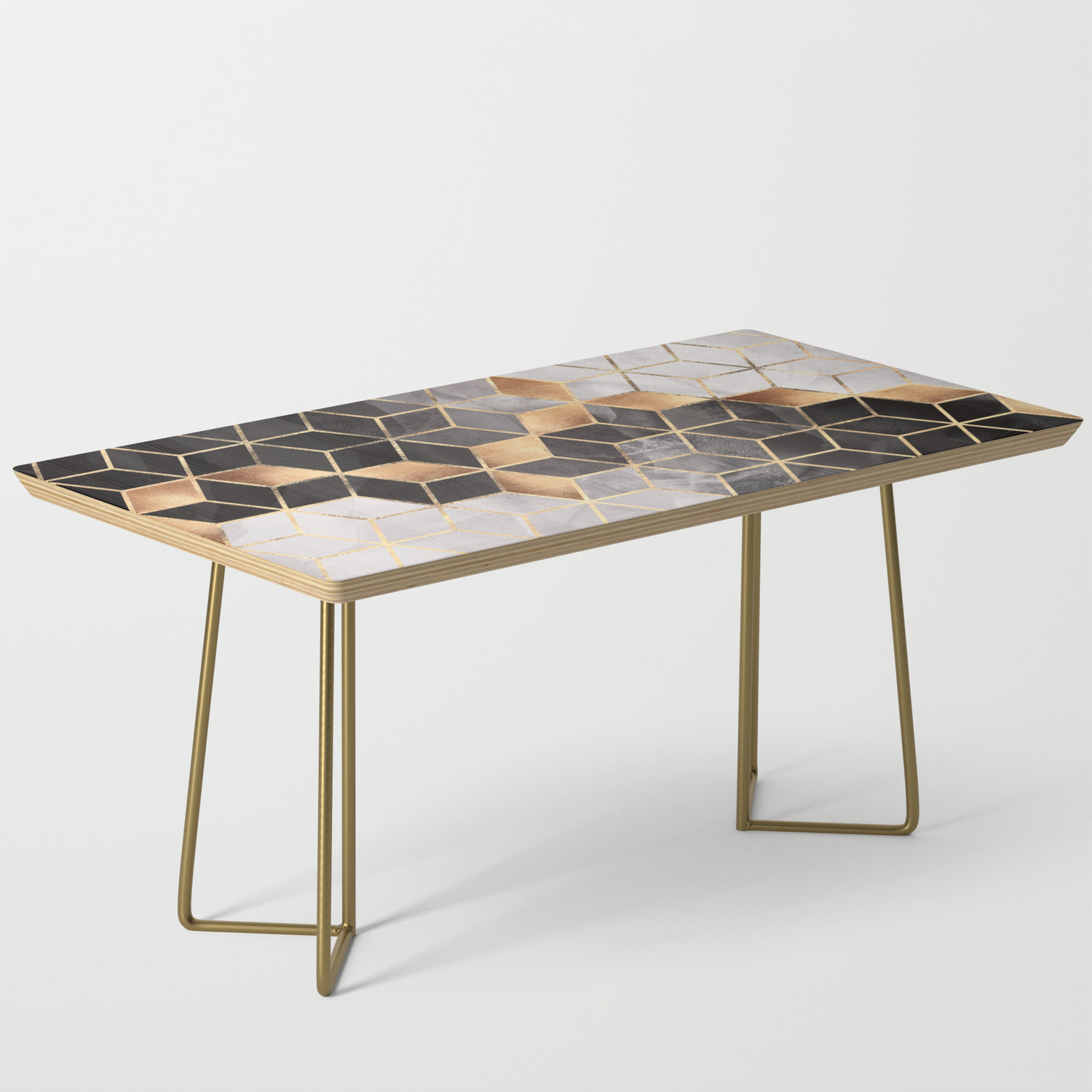 Smoky Cubes Coffee Table By Elisabethfredriksson