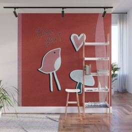 Love you Wall Mural