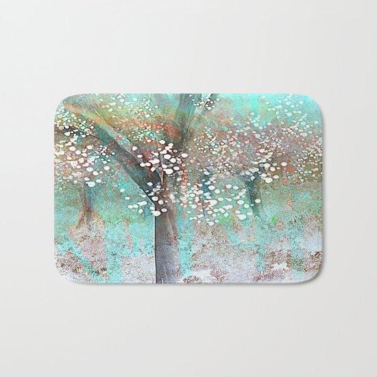 Sparkling Trees Bath Mat