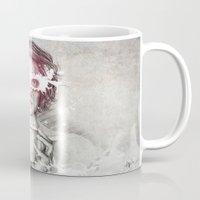 milk Mugs featuring Milk by Anna Sun