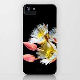 Bold and Wild Flowers iPhone Case