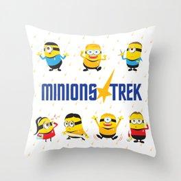 Minion Trek Throw Pillow