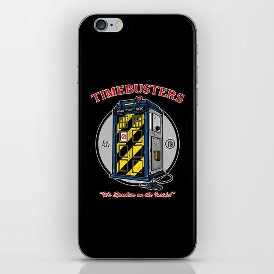 Timebusters iPhone & iPod Skin