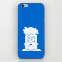 my mad fat diary iPhone & iPod Skins featuring Fat Kid by Jonas Pelzer