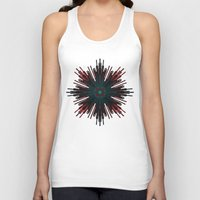 cyberpunk Tank Tops featuring Nucleotid by Obvious Warrior