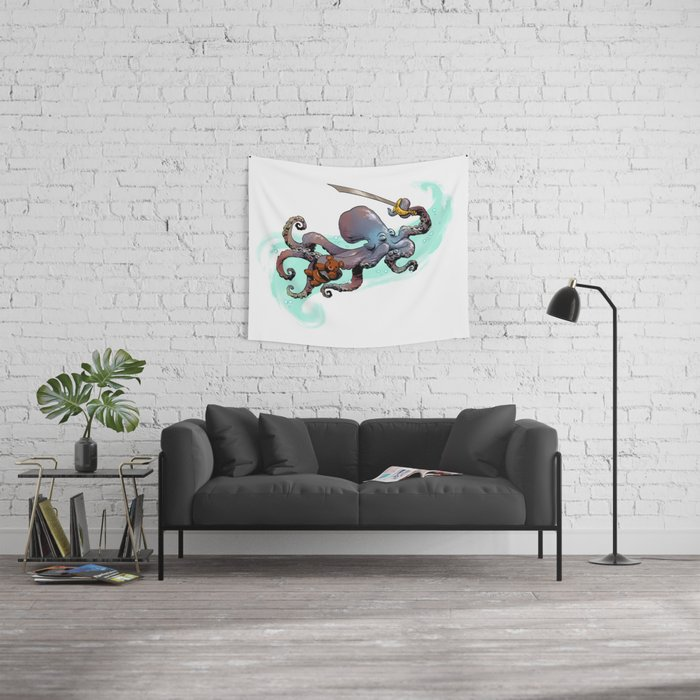 Otto S Big Adventure Wall Tapestry By Briankesinger Society6