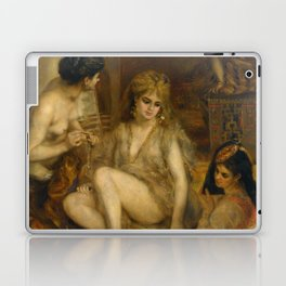 "Auguste Renoir ""Parisiennes in Algerian Costume or Harem"" Laptop & iPad Skin"