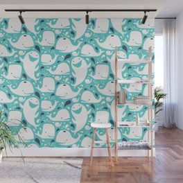 Whale Of A Time Wall Mural