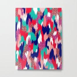 Elena Abstract Metal Print