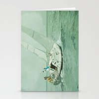 sail Stationery Cards featuring Sail by Mary Kilbreath