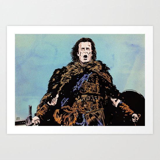 There can be only one Art Print