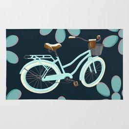 My Bike Floral Rug