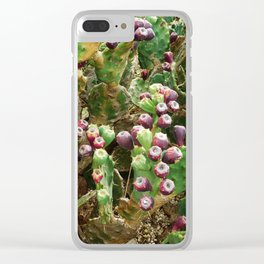 spiny plants Clear iPhone Case