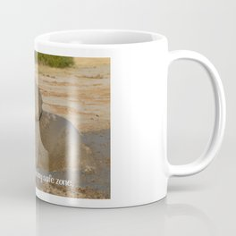 No peeking. This is my safe zone. Coffee Mug