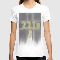 221b T-shirts featuring Sherlock, 221b Baker Street  by Anthony M. Sennett