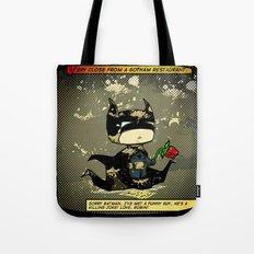 Bad Bat-lentines Tote Bag