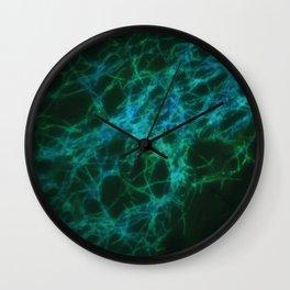 Galaxy biofilm Wall Clock