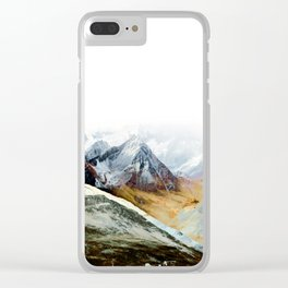 Mountain 12 Clear iPhone Case