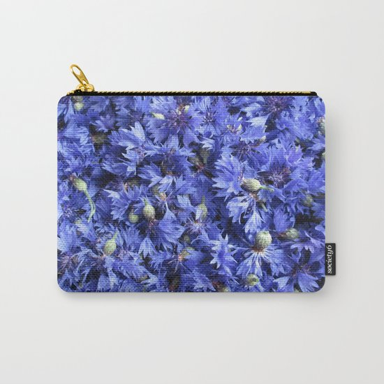 Bed of cornflowers Carry-All Pouch