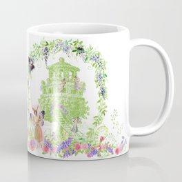 Vintage Fairy Garden Coffee Mug
