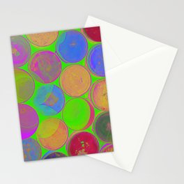 The Lie is a Round Truth. Green. Stationery Cards