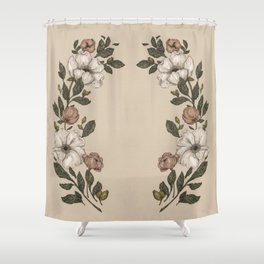 Floral Laurel Shower Curtain