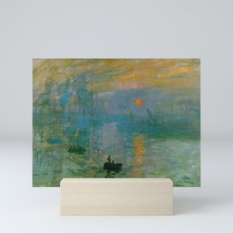 Impression, Sunrise by Claude Monet Mini Art Print