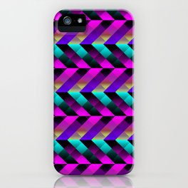Dark Purple iPhone Case