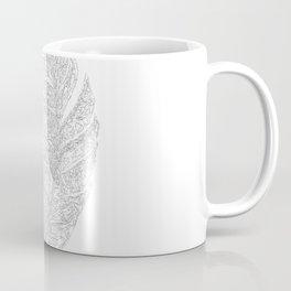 Leaf Monochrome Art Print-07 Coffee Mug