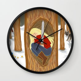 Tell Me A Story Wall Clock