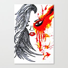 On Fire. Canvas Print