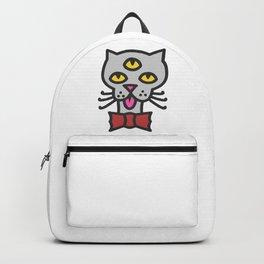 creepy cat Backpack