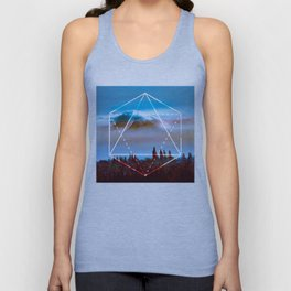 The Elements Geometric Nature Element of Air Unisex Tank Top