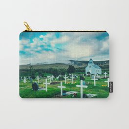 Iceland graveyard Carry-All Pouch